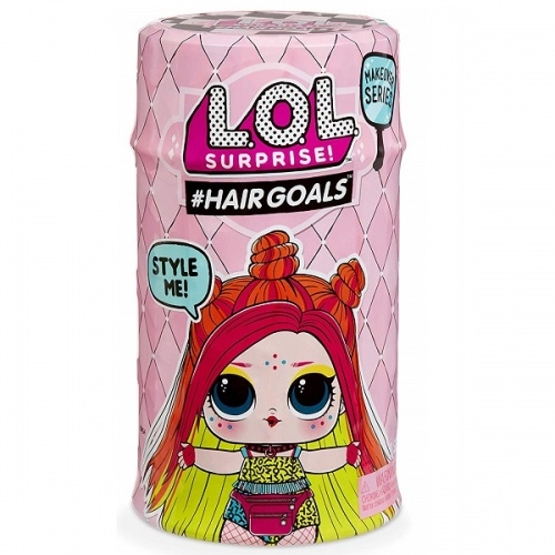 557067 LOL 5 серия волна 2 MGA Entertainment Кукла капсула лол Hair Goals с волосами
