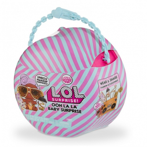 Кукла-сюрприз MGA Entertainment в шаре LOL Surprise Ooh La La Baby Surprise Малышка Диджей Lil D.J. 516666 фото 2
