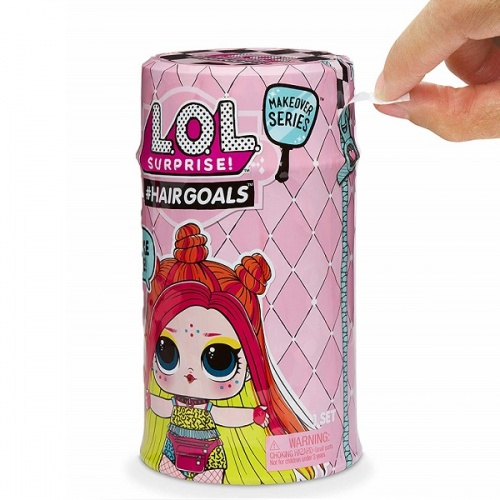 557067 LOL 5 серия волна 2 MGA Entertainment Кукла капсула лол Hair Goals с волосами фото 5