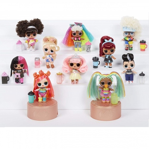 557067 LOL 5 серия волна 2 MGA Entertainment Кукла капсула лол Hair Goals с волосами фото 2