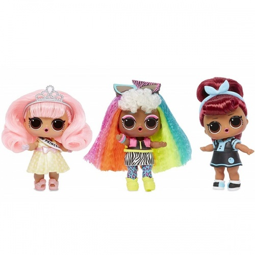 557067 LOL 5 серия волна 2 MGA Entertainment Кукла капсула лол Hair Goals с волосами фото 3