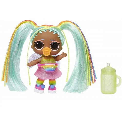 557067 LOL 5 серия волна 2 MGA Entertainment Кукла капсула лол Hair Goals с волосами фото 8