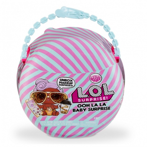 Кукла-сюрприз MGA Entertainment в шаре LOL Surprise Ooh La La Baby Surprise Малышка Диджей Lil D.J. 516666