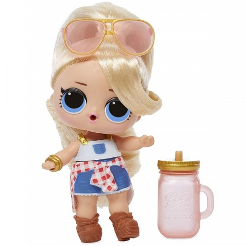 557067 LOL 5 серия волна 2 MGA Entertainment Кукла капсула лол Hair Goals с волосами фото 4