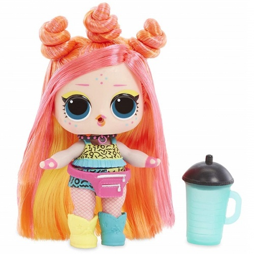 557067 LOL 5 серия волна 2 MGA Entertainment Кукла капсула лол Hair Goals с волосами фото 6